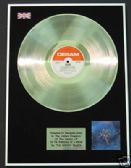 MOODY BLUES Platinum Disc- ON THE THRESHHOLD OF A DREAM